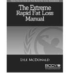 Extreme Rapid Fat Loss Handbook